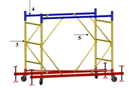 Схема сборки строительных