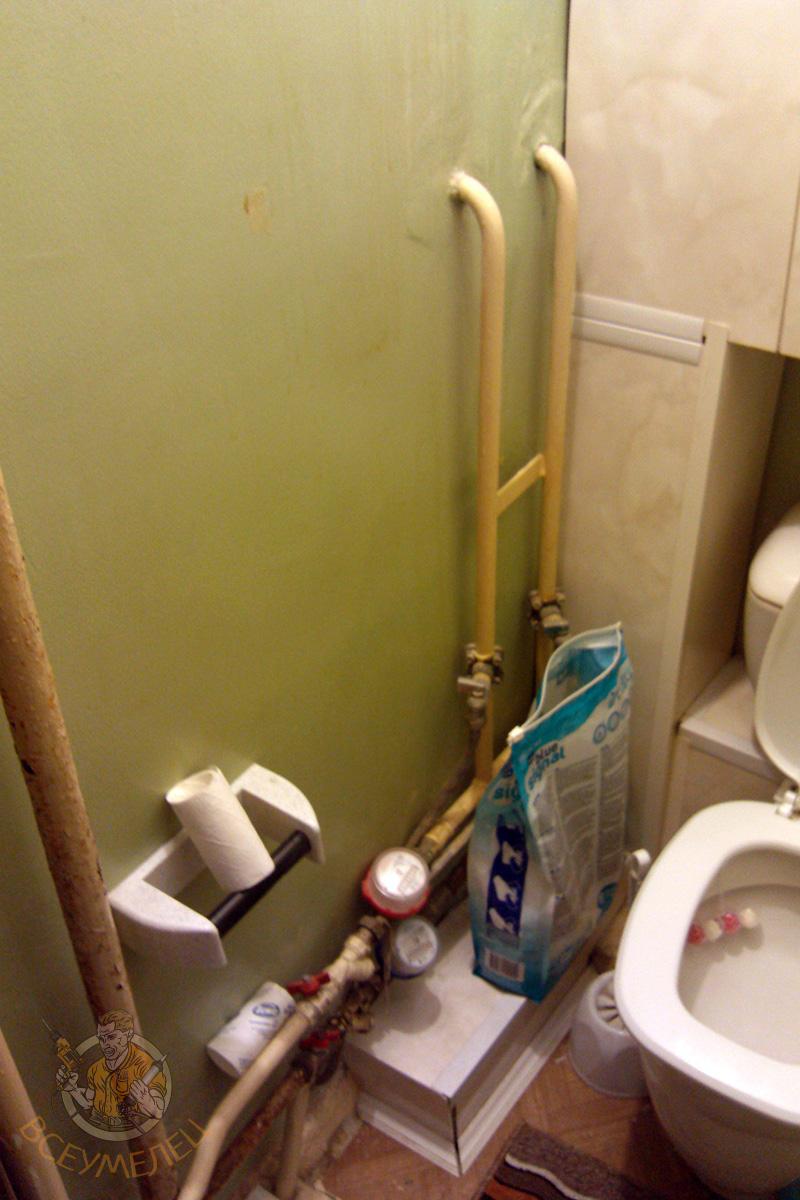 Ремонт в туалете как сделать фото